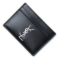 Saint Laurent Calfskin Card Holders
