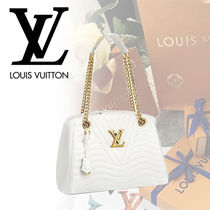 Louis Vuitton Blended Fabrics Chain With Jewels Mothers Bags