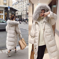 Plain Long Oversized Parkas