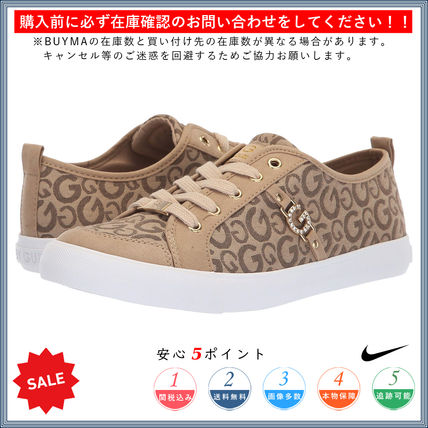 Round Toe Lace-up Casual Style Low-Top Sneakers