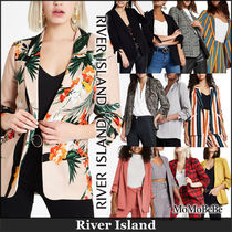 River Island Other Check Patterns Flower Patterns Casual Style Medium
