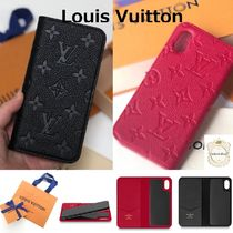 Louis Vuitton Leather Smart Phone Cases