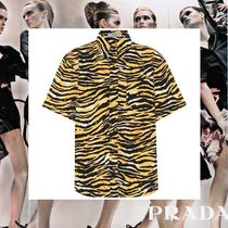 PRADA Casual Style Other Animal Patterns Cotton Medium