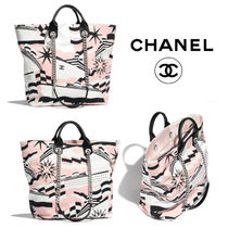 CHANEL Calfskin Totes