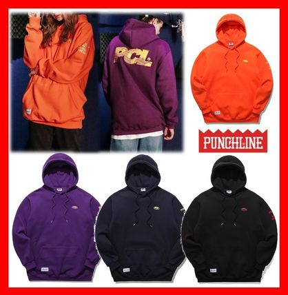 Unisex Street Style Cotton Hoodies & Sweatshirts