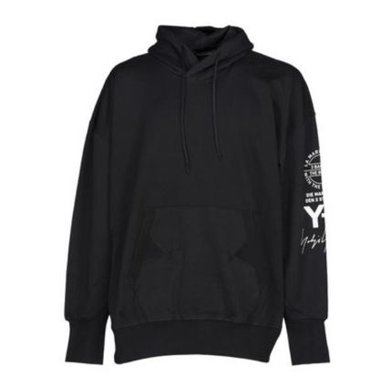 Y-3 Hoodies Unisex Street Style Long Sleeves Cotton Logo Designers 3