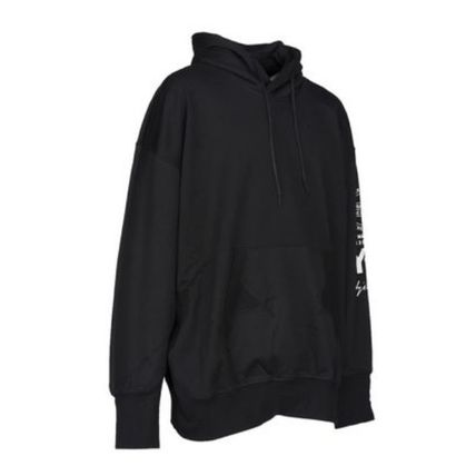Y-3 Hoodies Unisex Street Style Long Sleeves Cotton Logo Designers 4
