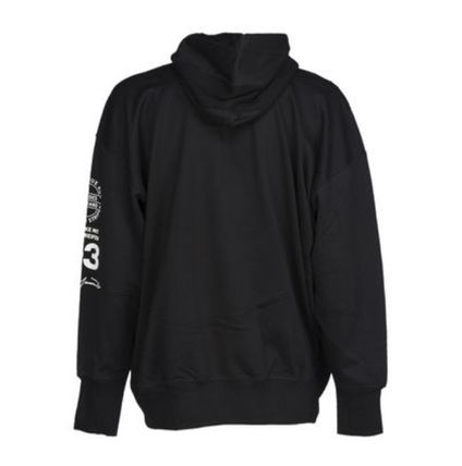 Y-3 Hoodies Unisex Street Style Long Sleeves Cotton Logo Designers 5