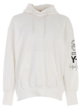 Y-3 Hoodies Unisex Street Style Long Sleeves Cotton Logo Designers 7