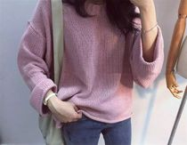 Crew Neck Cable Knit Long Sleeves Medium Knitwear