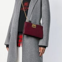 GIVENCHY Casual Style Plain Leather Clutches