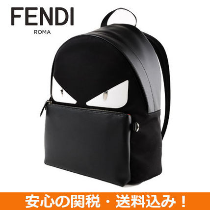 05894a7fb6ca FENDI Backpacks Nylon Studded Backpacks 6 FENDI Backpacks Nylon Studded  Backpacks ...