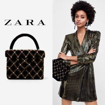 ZARA Party Style With Jewels Party Bags