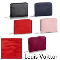 Louis Vuitton EPI Other Check Patterns Leather Coin Purses