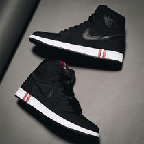 Nike JORDAN 1 Street Style Collaboration Leather Sneakers