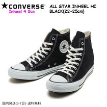 CONVERSE ALL STAR Wedge Casual Style Street Style Plain