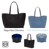 LOEWE A4 Plain Office Style Totes