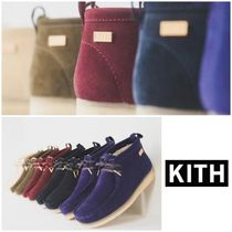 KITH NYC Suede Street Style Plain Boots