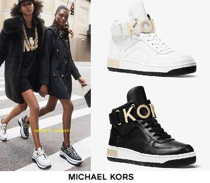 1fad2382c83 ... Michael Kors Low-Top Round Toe Rubber Sole Casual Style Street Style  Plain ...