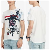 Tommy Hilfiger Henry Neck Cotton Short Sleeves Henley T-Shirts