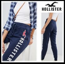 Hollister Co. Casual Style Sweat Street Style Plain Long Sweatpants