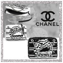 CHANEL Casual Style Nylon Bags