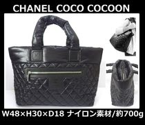 CHANEL COCO COCOON Casual Style Nylon Totes