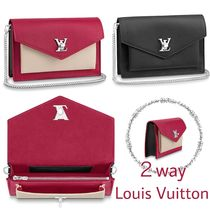 Louis Vuitton MY LOCKME  Bi-color Leather Pouches & Cosmetic Bags
