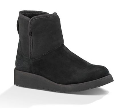 UGG Australia Flat Round Toe Casual Style Suede Plain Flat Boots 3