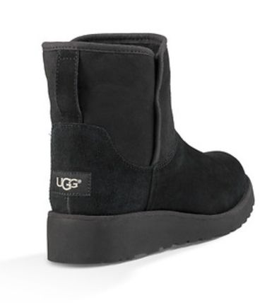 UGG Australia Flat Round Toe Casual Style Suede Plain Flat Boots 4