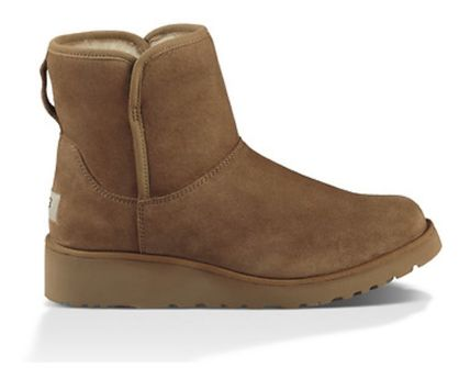 UGG Australia Flat Round Toe Casual Style Suede Plain Flat Boots 7