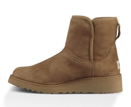 UGG Australia Flat Round Toe Casual Style Suede Plain Flat Boots 10