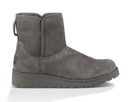 UGG Australia Flat Round Toe Casual Style Suede Plain Flat Boots 12