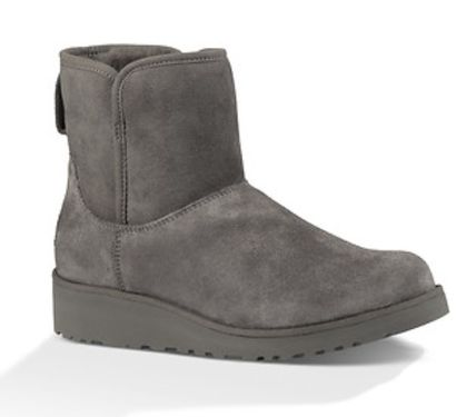 UGG Australia Flat Round Toe Casual Style Suede Plain Flat Boots 13