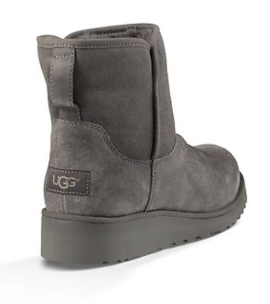 UGG Australia Flat Round Toe Casual Style Suede Plain Flat Boots 15