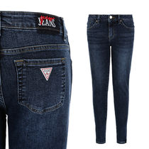 Guess Casual Style Denim Street Style Plain Skinny Pants