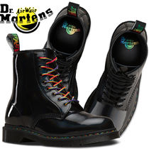 Dr Martens 1460 Lace-up Casual Style Unisex Street Style Lace-up Boots