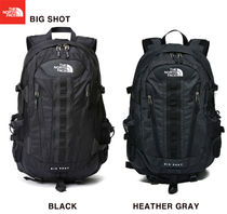 THE NORTH FACE Unisex Street Style A4 Plain Backpacks