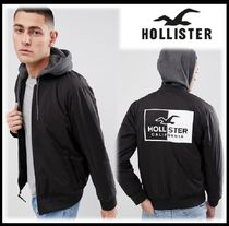 Hollister Co. Short Unisex Blended Fabrics Street Style Plain