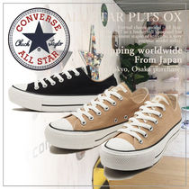 CONVERSE ALL STAR Platform Casual Style Plain Platform & Wedge Sneakers