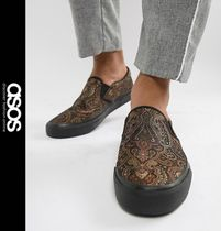 ASOS Paisley Street Style Loafers & Slip-ons