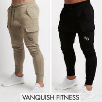 VANQUISH FITNESS Tapered Pants Plain Tapered Pants