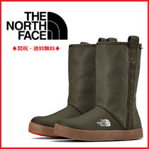 THE NORTH FACE Round Toe Plain Rain Boots Boots