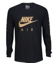 Nike Crew Neck Pullovers Street Style Long Sleeves Plain Cotton