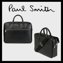 Paul Smith A4 2WAY Plain Leather Business & Briefcases
