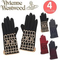 Vivienne Westwood Wool Smartphone Use Gloves