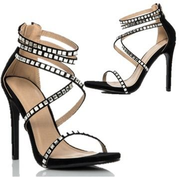 Plain Pin Heels Party Style Shoes