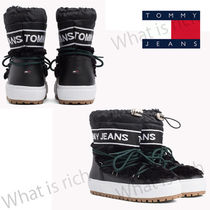 Tommy Hilfiger Mountain Boots Casual Style Faux Fur Street Style