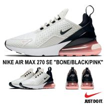 buy online dc21d 0a14c Nike AIR MAX 270 2018-19AW Unisex Street Style Low-Top Sneakers (BONE BLACKPINK) by morituto - BUYMA