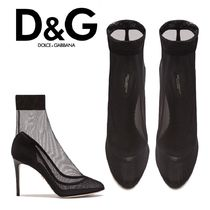 Dolce & Gabbana Pin Heels Ankle & Booties Boots
